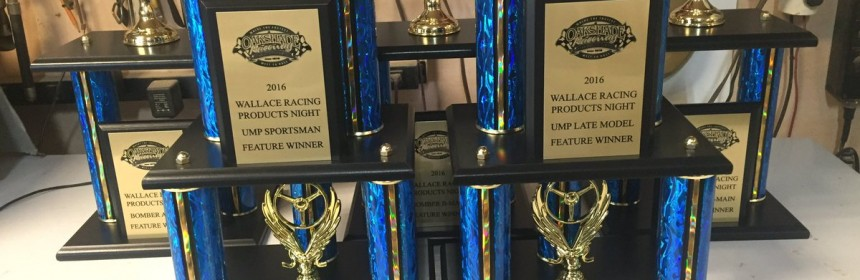 Wallace Racing Products Trophies